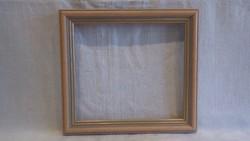 Modern fa képkeret , falc 16x18 cm