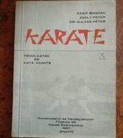 Karate könyv, katák, alkudható!