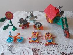 Mozgatható kinder figurák