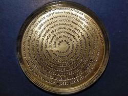 AEGON ezüst emlékérem (id26804)