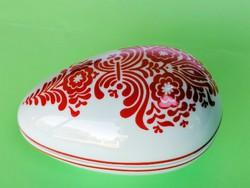 Retró Alföldi tojás porcelán
