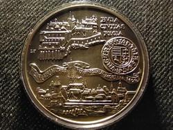 Buda Civitas Regia .900 ezüst 500 Forint 1990 BP BU (id26791)