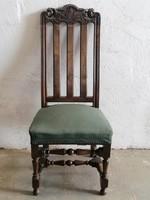 Antik magastámlás szék