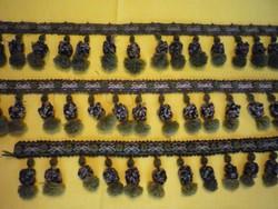 Antik mohazöld kis gubós rojt 190522/4