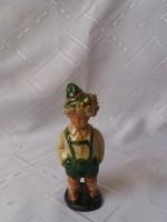 Szécsi kerámia bajor kisfiú 12 cm