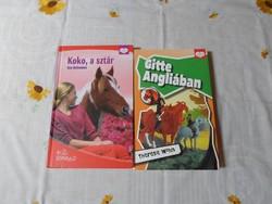 Pony Club könyvek: Gitte Angliában; Koko, a sztár