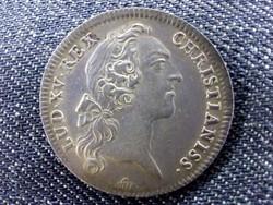 XV. Lajos Extraordinary War ezüst zseton 1745 (id10146)