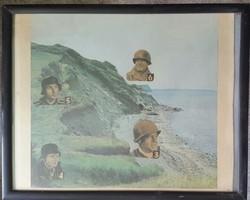 A halál ötven órája (Battle of the Bulge) az ardenneki ütközetet feldolgozó fimről montázs kép