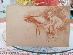 1918 képeslap , jelzett Fröschl