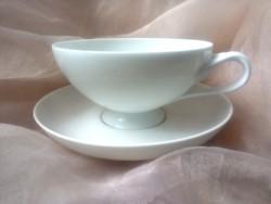 Hófehér teás csésze Hutschenreuther -Rosenthal