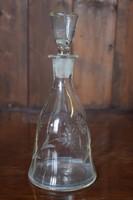 Likőrös üveg, hibátlan