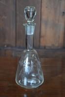 Antik likőrös üveg