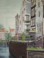 Holland utcakép a 70-es évekből