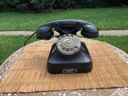 1930. Ericsson, Magyar Királyi Posta tulajdona, tárcsás telefon, múzeumi, alkudható