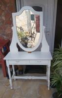 Fenyő fésülködő asztal,szekrény, Gyönyörű szépség ,fésülködőasztal