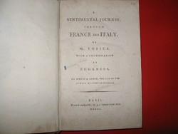 Sentimental Journey through France and Italy by Mr. Yorick(1800-ból )