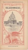 OLASZORSZÁG képes idegenforgalmi kiadvány 1924