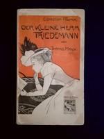 Thomas Mann : Der kleine Herr Friedemann, 1898 erste Ausgabe, Fischer/ Baptist Scherer  -
