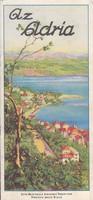 Az ADRIA olasz fürdőhelyek képes ismertetése 1930ca (2.)