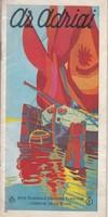 Az ADRIA olasz fürdőhelyek képes ismertetése 1930ca