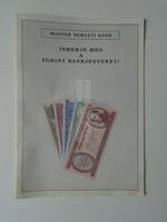 G029.100  Magyar Nemzeti Bank Ismerje meg a forint bankjegyeket