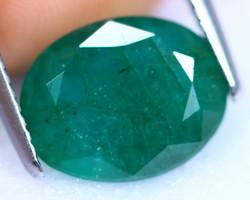 4.31 ct Smaragd / Emerald
