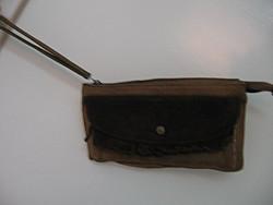 Retro bőr autós táska