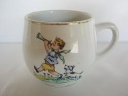 Kőbányai porcelán gyerek mese bögre