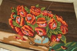 Kézzel készült goblein pipacs csokor