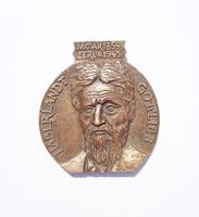 Rajki László bronz plakett, Haberlandt Gottlieb 1854-1945