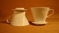 Régi Melitta 102 porcelán kávéfilter  1 lyukú