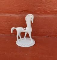Ritka Aquincumi, Aquincum art deco lò, lovacska, nipp, figura,