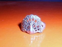 Régi PáVA mint.Tibeti ezüst kézműves gyűrű 7-8- as