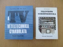 A TV vételtechnika gyakorlata / Televíziós méréstechnika