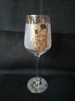 Goebel borospohár, új, Gustav Klimt: A csók