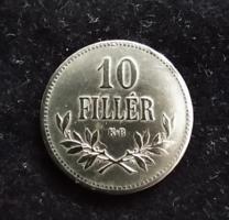 10 fillér 1915 KB