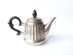 Classic coffee pot with vinyl handle and tongs - spout, jug