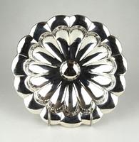1B289 Régi gyönyörű art deco 800-as ezüst kínáló 245 g