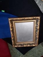 Anti tükör   aranyozott  kerettel