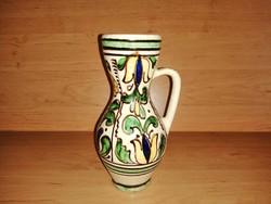 KORONDI kerámia korsó 1980 Győrfi Imre 20 cm (21/d)