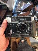 FED-5-ös szovjet fényképezőgép, nagyon jó állapotban, gyűjtőknek.
