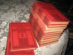 Gót betűs regények  a   tudományokról , 12  db   XIX sz  vége   érdekes szórakoztató