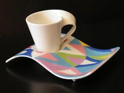 Villeroy & Boch New wave kávés, cappucinos  csésze aljjal