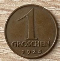 Ausztria 1 Groschen 1925