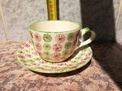 Gmundek, Gmunden kerámia Ausztria art deco. Kézifestett virágokkal! Kávé, teás.