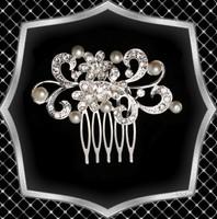 Esküvői, menyasszonyi, alkalmi hajdísz, ES-SH08e
