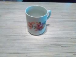Régi Zsolnay porcelán szoknyás bögre.