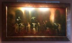 Vinczellér Imre olajfestmény sorozata 2 db