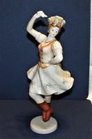 Csárdáskirálynő Régebbi I.o. Hollóházi Porcelán  31 cm