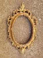 Aranyozott barokk keret valódi aranylappal